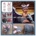 Livre de tricô padrões bebê coelho traje para o recém-nascido foto prop