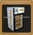 Mesa 40L refrigerador display / desk top congelador / top uso balcão refrigerador