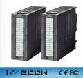 Wecon 8 entrada analógica módulo de plc preço modesto e compatíveis com a siemens plc s7-300 módulo