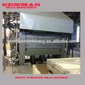 nueva madera hidráulico de la máquina de madera contrachapada caliente máquina de la prensa