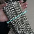 personalizado 4mm de bola de metal de la cadena de la cortina