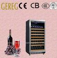 81-garrafa de prata de vidro da porta comopressor Vinho freezer freezers