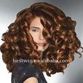 el estilo de moda las pelucas de pelo cortes de pelo onda del cuerpo