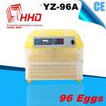 Aprobado por la ce 98% hatching automático de huevos para incubar precio de la máquina