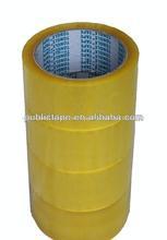 Scotch auto-adhesivo de cinta engomada color amarillento
