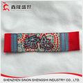 shenzhen tejido personalizado marca de diseño de etiquetas de la ropa