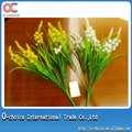 Plantas artificiales de plástico para decoración