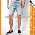 Pantalones vaqueros de los hombres pantalones casuales baratos Venta caliente de alta calidad lavadas (hyms408)
