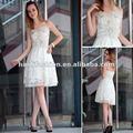 Dorisqueen ( doris ) 2012 original diseño palabra de honor blanco elegancia vestido de novia