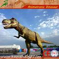 Tiranosaurio rex maquetas de dinosaurios a tamaño natural en una zona interactiva