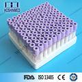 China alibaba fornecedor EDTA tubo tubo de coleta de sangue roxo funcional