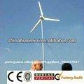 Pequeno sistema de vento 500w uso doméstico, residental uso da turbina de vento gerador