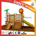 los niños de madera comercial de juegos infantiles