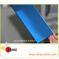 el color azul de acrílico