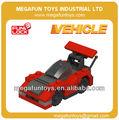 FUNLOCK 43pcs plástico de carreras de coches juguetes modelo de construcción para niños