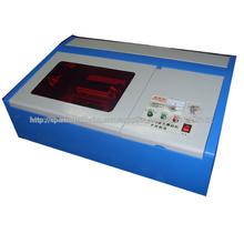 ZK-40W modelo mini láser máquina con 40W láser tubo de grabado