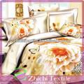 elegante mariposa reactiva 3d conjunto ropa de cama
