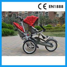 doble asiento del cochecito de bebé para los gemelos