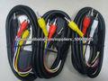 Euroconector scart cable- 4 rca euroconector a rgb cable rca