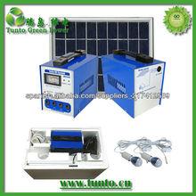 Sistema de alto rendimiento portátil DC de la energía solar para el uso de viaje