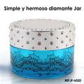 frascos con tapa jar diamante