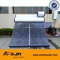Pre- de calor tubos de vacío solar termosifón de agua caliente