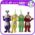oi ce popular teletubby mascote trajes para venda