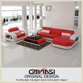 De lujo ganasi sofás de estilo italiano, sofá de cuero baratos conjunto, muebles pesados para la gente