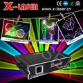 Etapa 2w RGB a todo color de fuegos artificiales de luz láser de animación y efecto de rayo con la tarjeta SD luz láser
