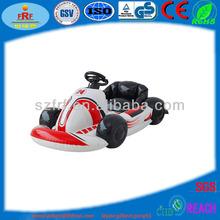 pvc de automóviles inflatble kart de carreras de juguetes