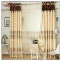 Decorativo de la puerta de la cortina, parque madison duna de panel de la ventana par, cortinas en la cortina