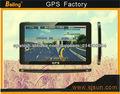 7,0 pulgadas de navegación GPS con HD, FM, libre de actualización europa mapa
