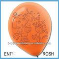 La promoción de ventas grandes globos de helio, máquina para inflar globos
