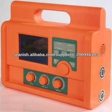 MCV-3100P LCD Screen A/C SUSPIRO SIMV MANUAL PEEP CPAP SPONT Respirador Portátil