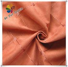 bordado de tela de gamuza