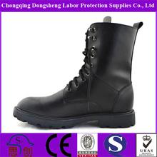 botas negras para la seguridad