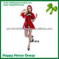 Carnaval disfraz de personaje, navidad vestido de la muchacha, vestido sexy para las mujeres, de navidad de cosplay
