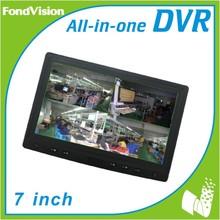 H.264 CCTV DVR Combo, Kit CCTV de 4 canales DVR