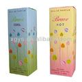 custom tamanho e perfume de presente de papel caixa
