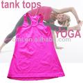 pilates entrenamiento superior super elegante para mujer pilates tanques de deportes de ejercicio de yoga tapa del tanque de yog