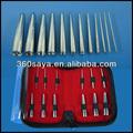 fuente de la fábrica mejor cono profesional piercing kit de herramientas
