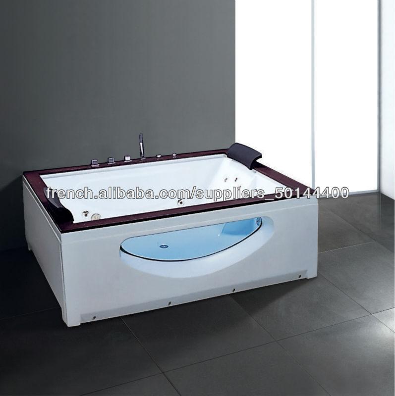 1800x1500x700mm acrylique baignoire de massage thermostat. Black Bedroom Furniture Sets. Home Design Ideas
