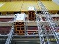 elevador de la construcción