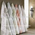 100% de hueso fiberic whalesale toallas de baño con cuentagotas