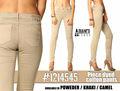 Mujer pantalones de algodón teñidos