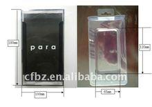 2014 nuevo estilo de seda- pantalla pringting caja de acetato