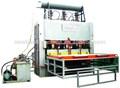 doble de los lados de laminación en caliente de la máquina de la prensa para mdf