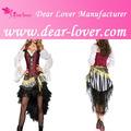 atacado 2014 3 pcs traje adulto fantasias de pirata mulheres imagem