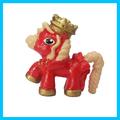 Regalo de año nuevo caballo, nuevo diseño 3d la figura de dibujos animados de juguete