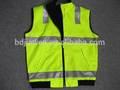 De algodón para hombre ropa de trabajo de ventilación con cinta reflectante, de alta vis para hombre de ventilación